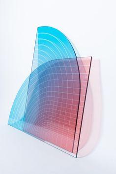 Infinity glass panel