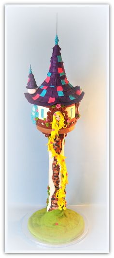 Rapunzel's Tower Cake (Tangled)