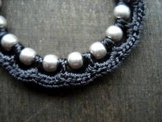 Inspiration+crochet   crochet jewelry ~ inspiration   Crochet