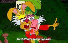 Mad Hatter (Alice in Wonderland) quote