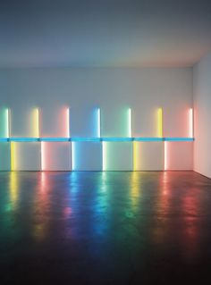 dan flavin at richmond hall