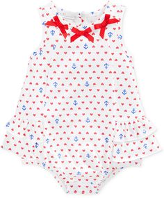First Impressions Baby Girls' Anchor Sunsuit Original price: $18 - Sale price: $6.74