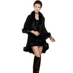 Etosell Women's Faux Fur Outwear Coat…