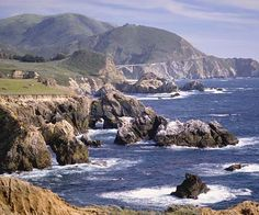 Monterey California  -  One of my all time favorite places.  Would live here in a minute if I could afford it!