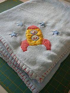 Sewing Belle: Baby Blanket