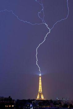 Rayos en Paris
