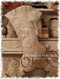 SHABBY CHIC STOCKING