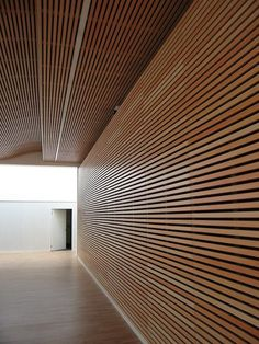 It is pretty easy to implement your brilliant ideas. You can only choose which idea you like the most, then your basement would be the most comfortable living space. Acoustic Design, Acoustic Wall, Ceiling Design, Wall Design, Acustic Panels, Basement Ceiling Options, Ceiling Ideas, Wood Slat Wall, Wood Slats