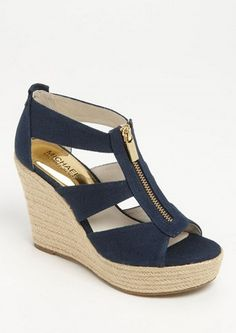 Michael Kors wedge sandals  http://rstyle.me/n/wny6wpdpe #WedgeSandals