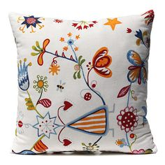 Retro-Simple-Style-Square-Home-Bedroom-Decor-Seat-Back-Pillow-Case-Cushion-Cover