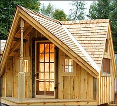 Storage Shed Plans | ... Shop - post and beam shed kits and plans, garden sheds, wood cottages