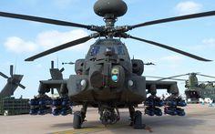 British Army Air Corps Westland AH-1 Longbow Apache