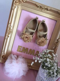 Pink and gold baby shower party picture! See more party planning ideas at CatchM… – baby shower – Baby Shower Fotos Baby Shower, Baby Shower Photos, Baby Shower Gender Reveal, Baby Shower Photo Frame, Ballerina Baby Showers, Gold Baby Showers, Baby Shower Princess, Pink Princess, Fiesta Shower