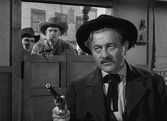 James Arness, Milburn Stone, and Dennis Weaver in Gunsmoke Western Film, Western Movies, Best Western, Western Art, Milburn Stone, Matt Dillon, Miss Kitty, Tv Westerns, Shocking Facts