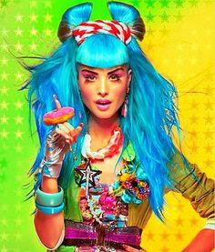 #colour #rainbow #kitsch #candy #fashion #lycra #retro #80s