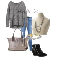 The Sutton Necklace Stella & Dot Fall Collection 2013.  http://www.stelladot.com/ninab  I smell a Friday Night Lights outfit!!