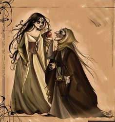 """Snow White"" by IriusAbellatrix"