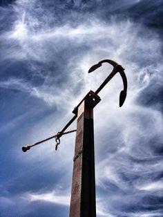 Anker Fischerzunft Utility Pole, Wind Turbine, Anchors