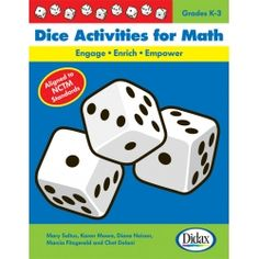 Dice Activities for Math--so many simple ways to make learning math fun!