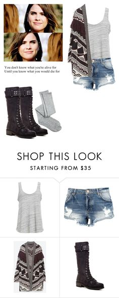 """Malia Tate - tw / teen wolf"" by shadyannon ❤ liked on Polyvore featuring Project Social T, Zara, Rebels and Charlotte Russe"