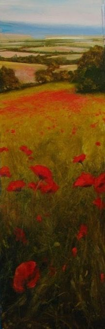 Filed of poppies   David Dunlop