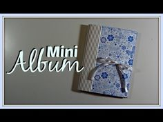How to make an Easy Scrapbook Mini Album for Beginners Mini Scrapbook Albums, Diy Scrapbook, Dollhouse Tutorials, Baby Journal, Mini Albums Scrap, Baby Album, Book Binding, Mini Books, Pop Up