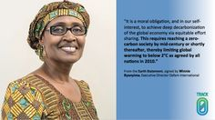 Support for a long term goal from @Winnie_Byanyima #earthstatement #ZeroBy2050 #CWNYC #climatechange