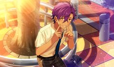 Ensemble Stars! あんさんぶるスターズ!\ \ \ Adonis Otogari Anime Boys, Anime Art Girl, Akatsuki, Star Character, Star Cards, Boy Poses, Cute Anime Pics, Handsome Anime, Ensemble Stars