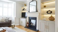 A COMPREHENSIVE GUIDE TO THE BEST NEUTRAL PAINT COLOURS - GIRL ABOUT HOUSE London Living Room, Home Living Room, Room London, Best Neutral Paint Colors, Paint Colours, Wall Colours, Room Ideas Bedroom, Bedroom Closets, Bedroom Corner