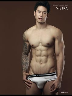 attitude thailand #guy #sexy #sixpack #asianboy