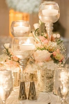 wedding centerpiece; photo:1313 Photography