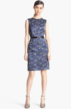 MARC JACOBS 'Disco Panther Print' Silk Dress available at #Nordstrom