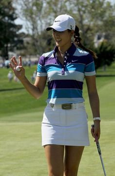 Michelle Wie knows how to dress