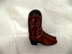 BOOTS CERAMIC HOLLOW MANY USES CUT FIGURINE BOOTS NEW our store link http://stores.ebay.com/store4angels?refid=store come see our store front always have great sales