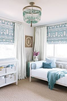 Perfect example of a room any little girl can grow into. Caitlin Moran Interiors…