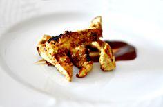 Pollo marinado con yogur y especias