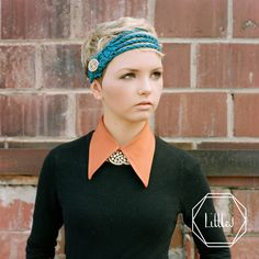 Little J Headbands are great with Short Hairstyles | littlejheadbands.com