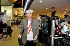 JT arrives in Buenos Aires