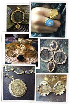 Bijoux Karen Liberman http://www.vogue.fr/joaillerie/a-voir/diaporama/des-bijoux-pieces-antiques-a-voir-sur-instagram-dubini-karen-liberman-1884-collection/21806/image/1127921
