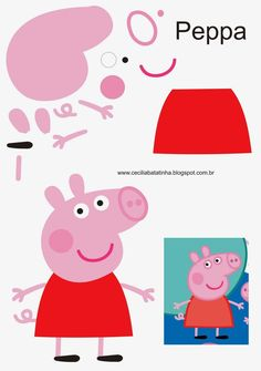 Peppa Pig Molds and Her Gang - Sonia Moura& Corner
