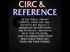 Circ & Reference - Law & Order Parody