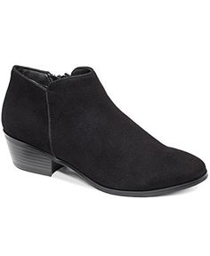 Style&co. Waverly Shooties - Booties - Shoes - Macy's BROWN