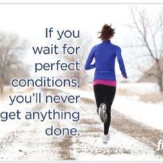 We love winter running!