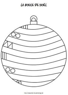 Risultati immagini per graphisme boule de noel Preschool Christmas, Christmas Crafts For Kids, Christmas Activities, Xmas Crafts, Christmas Balls, Christmas Colors, Crafts To Do, Winter Christmas, Christmas Themes