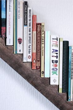 Stunning Creative Bookshelves Design Ideas 21 image is part of 25 Stunning Creative Bookshelves Design Ideas gallery, you can read and see another amazing image 25 Stunning Creative Bookshelves Design Ideas on website Do It Yourself Furniture, Diy Furniture, Do It Yourself Inspiration, Shelf Inspiration, Book Storage, Book Shelves, Storage Sheds, Home And Deco, Book Nooks