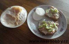 chléb se škvarkovou pomazánkou foto med Med, Tacos, Mexican, Pudding, Ethnic Recipes, Desserts, Custard Pudding, Deserts, Dessert