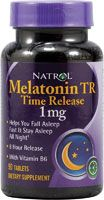 I find that the time-release form of melatonin helps me to stay asleep. 1 mg is plenty for most people (in fact, some health experts say 1/4-1/2 this does is enough). Those with conditions such as fibromyalgia may need more, however. Natrol also makes this in a 3mg and 5mg strength. Use the lowest dose that's effective for you. I suggest starting with the 1mg and taking 1 or more tabs until you find the right dose.