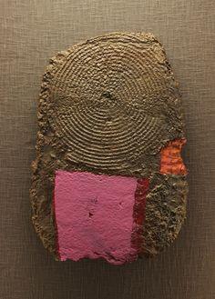 Copper, 2014. Paperclay, paint.  www.andrewfearnsideart.com