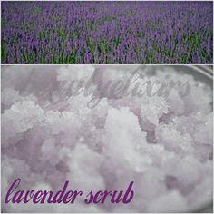 φυσικά καλλυντικά, αλχημείες & ελιξίρια: Βαθύς καθαρισμός για το σώμα με λεβάντα Lavender