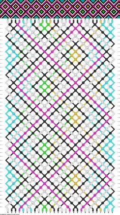 28 strings, 48 rows, 6 colors